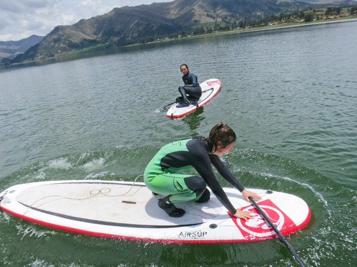 Stand Up Paddling in Cusco