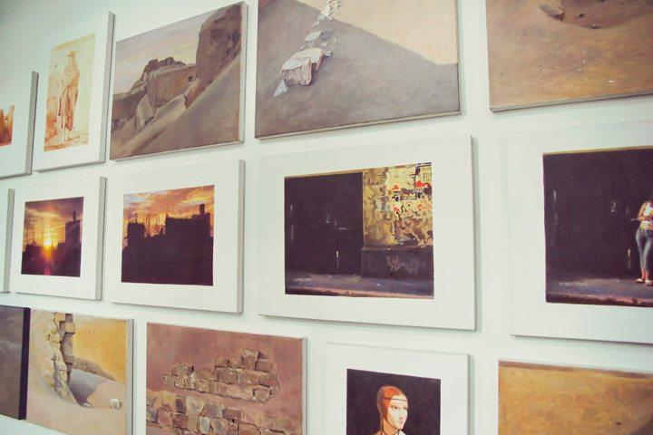 Original Art at Hotel B in Lima, Peru