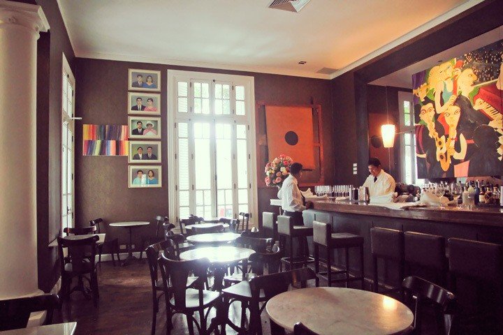 Restaurant at Hotel B in Lima, Peru