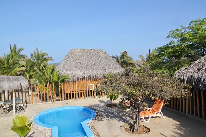 Pool at Vichayito Bungalows