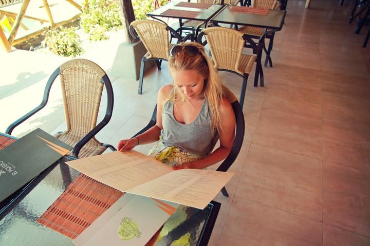 Restaurant at Vichayito Bungalows