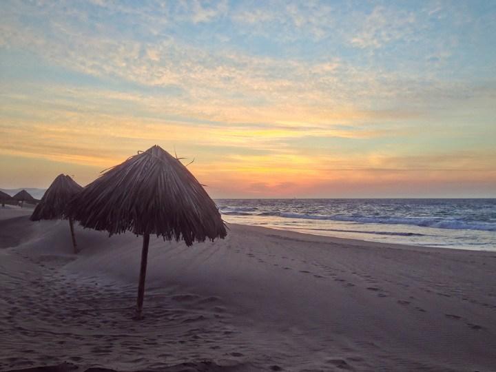Sunset in Vichayito