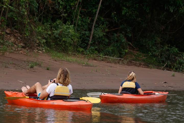 Kayaking in Puerto Maldonado