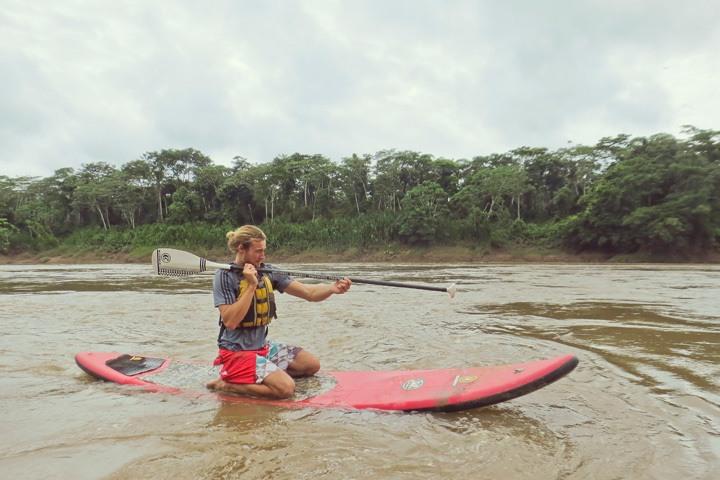 Stand Up Paddling at Refugio Amazonas