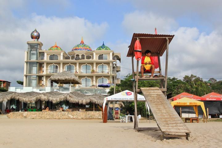 Castle in Montanita Beach