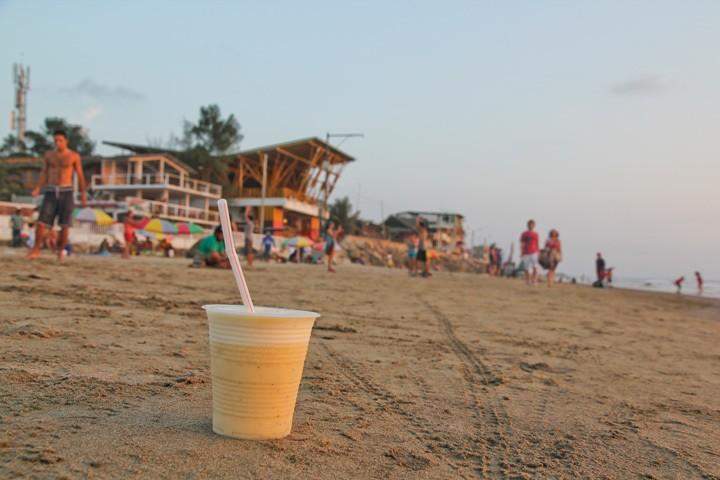 Fruit Shakes in Montanita Beach