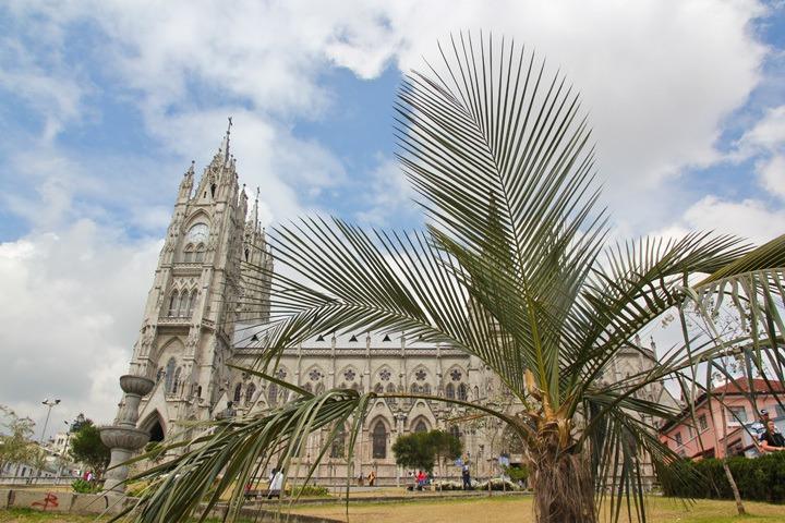 Colonial Quito, Ecuador