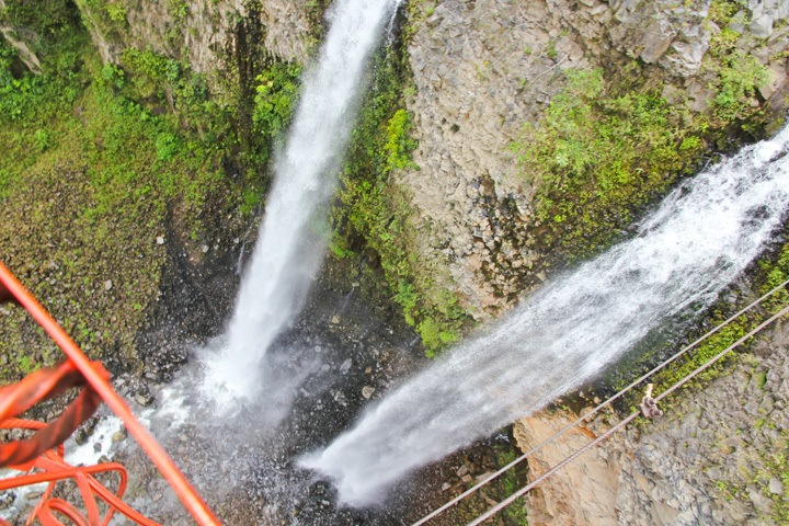 The Waterfall Route in Banos
