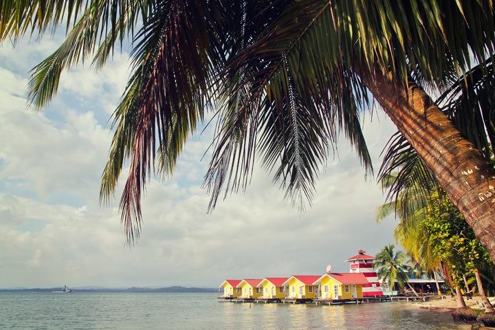 Over Water Bungalows in Bocas del Toro