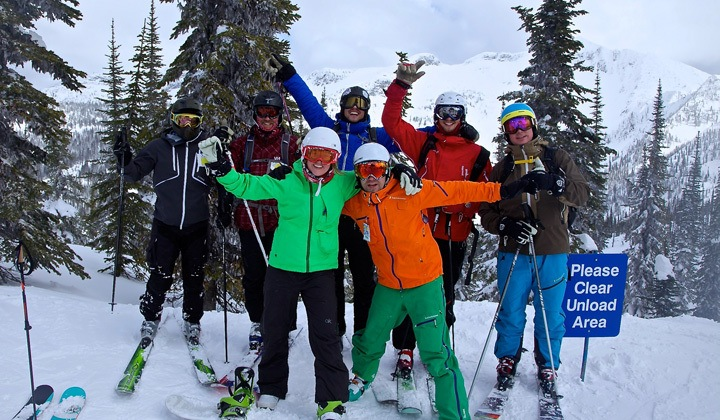 Working as a Ski Guide