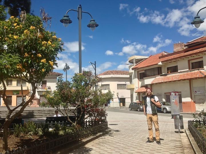 Traveling in Cuenca, Ecuador