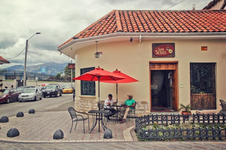 Cafe San Blas, Cuenca