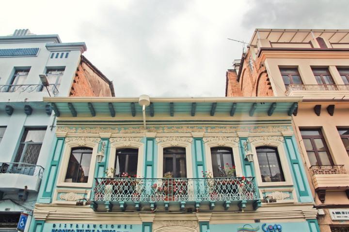 Colonial Buildings in Cuenca