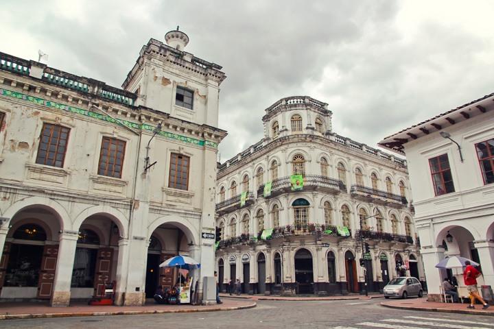 Colonial Cuenca, Ecuador