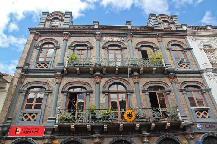 Architecture in Cuenca, Ecuador