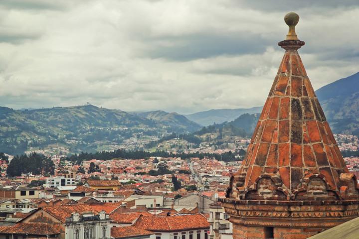 Cathedral of Cuenca, Ecuador