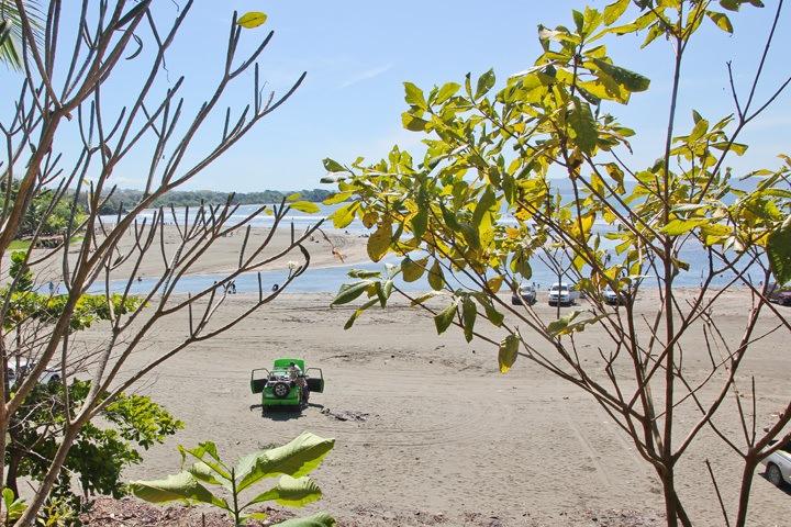 Partiers at Estero Beach, Santa Catalina, Panama