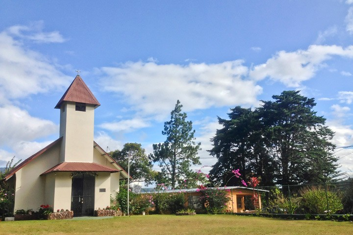 Church in Boquete, Panama