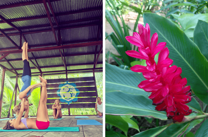 Acro Yoga in Panama