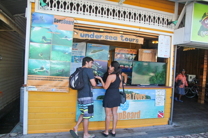Bocas del Toro Under Sea Tour