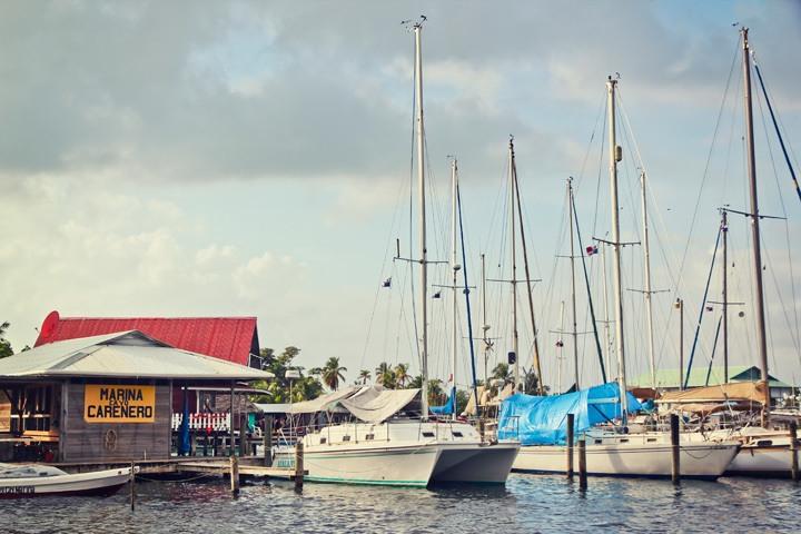 Harbor at Isla Caranero