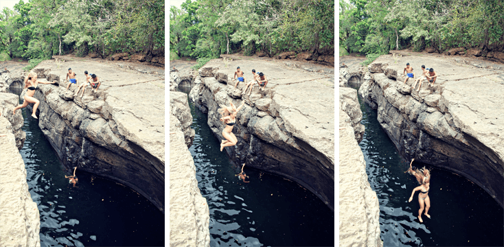 Canyon Jumping in Boquete