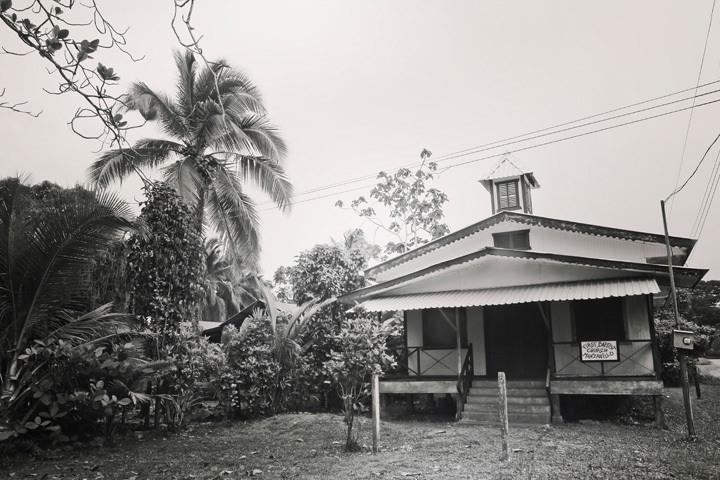 Church in Puerto Viejo, Costa Rica