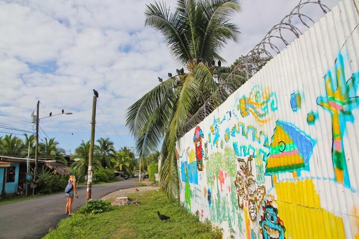 Street Art in Puerto Viejo