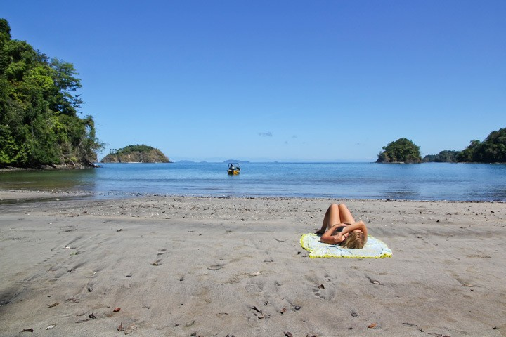 Beach in Coiba National Park
