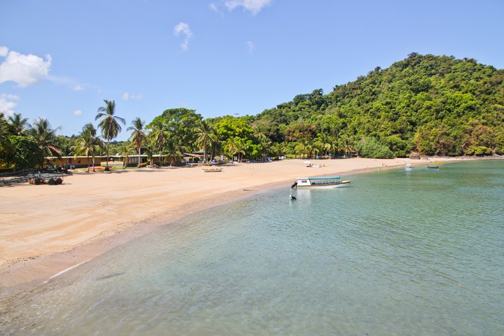 Coiba National Park Beach