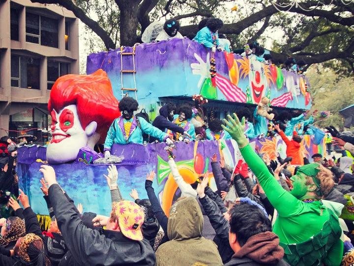 Krewe of Zulu, Mardi Gras 2014
