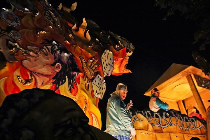 Knights of Babylon Parade Mardi Gras 2014