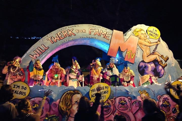 Krewe of Morpheus Mardi Gras 2014