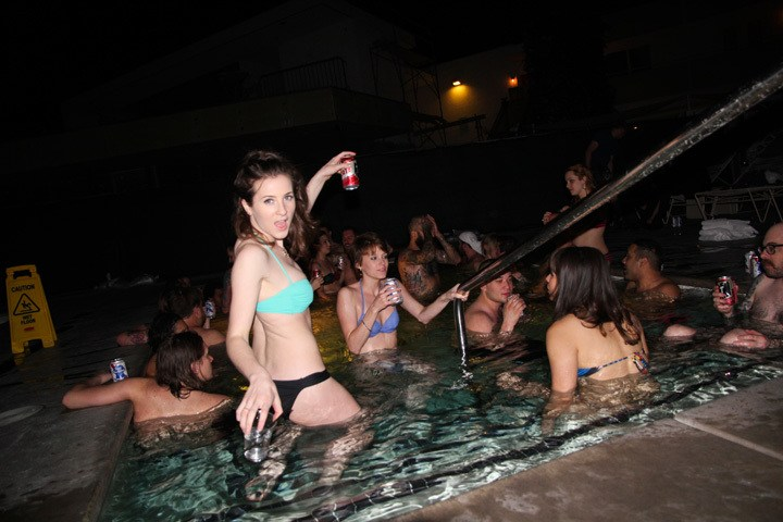 After Party at The Ace, Palm Springs