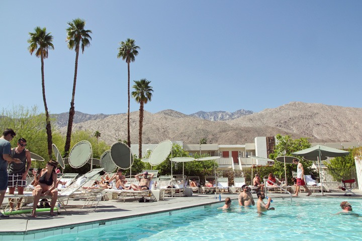 Pool at The Ace Palm Springs