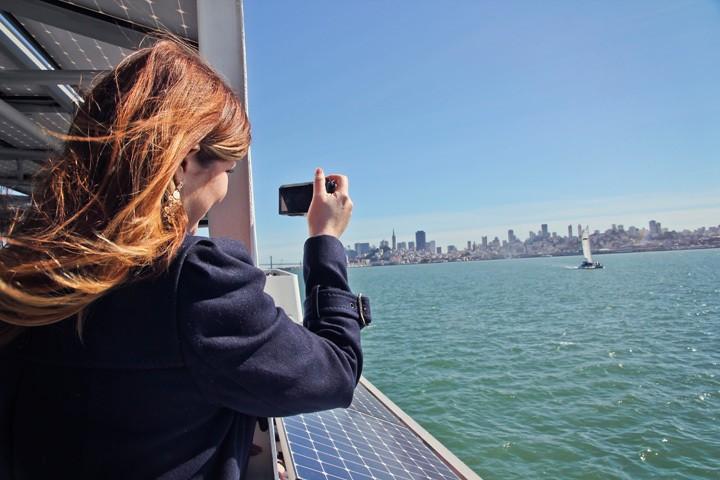 Views from Alcatraz Ferry