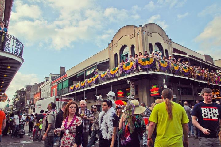 French Quarter, Mardi Gras