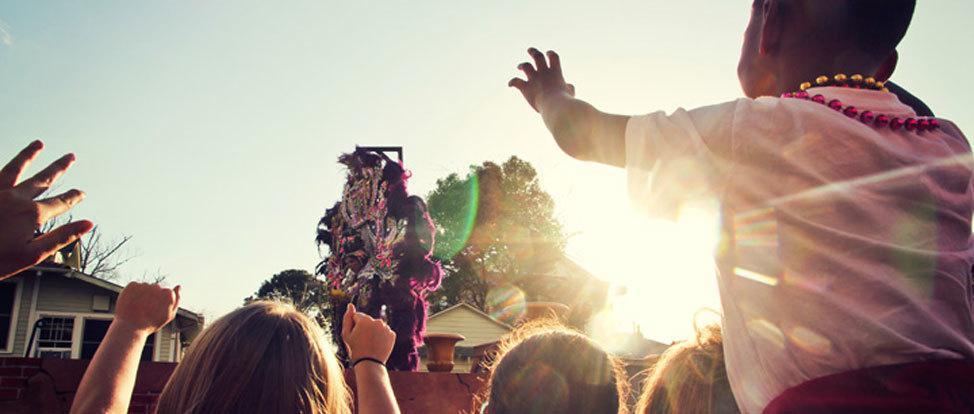 Memories of Mardi Gras: Parade-Side Partying thumbnail
