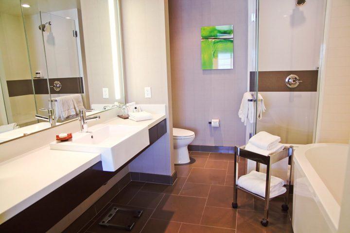 Suite Bathroom, Vdara, Las Vegas