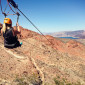 Adventures Off The Strip: Ziplining in Bootleg Canyon