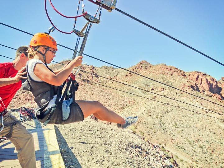 Las Vegas Ziplining