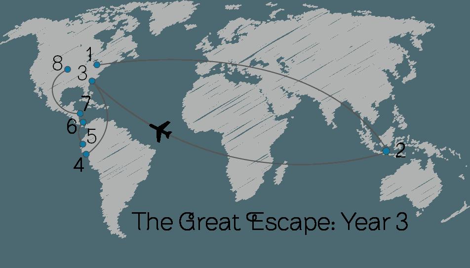 Great Escape Year Three