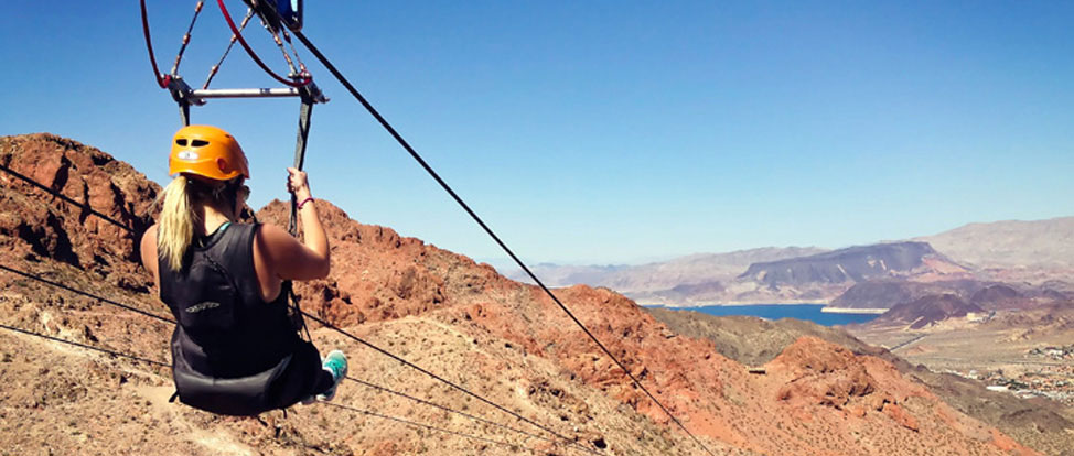Adventures Off The Strip: Ziplining in Bootleg Canyon thumbnail
