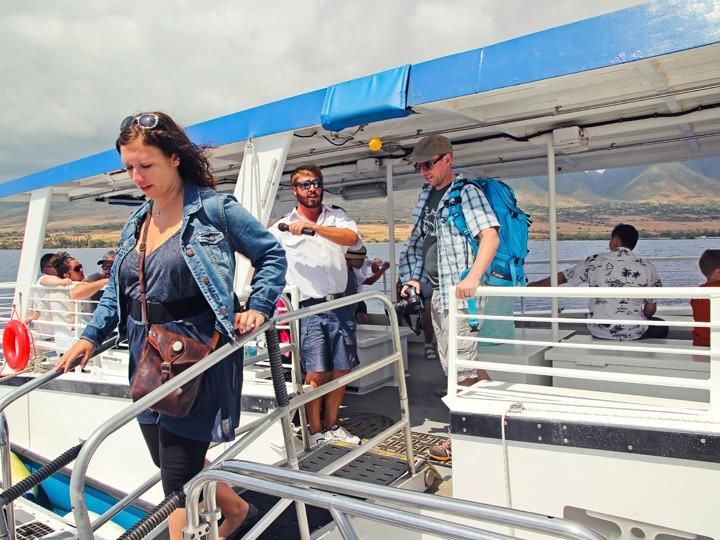 Boarding the Atlantis Submarine