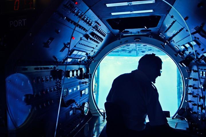 Captain of the Atlantis Submarine