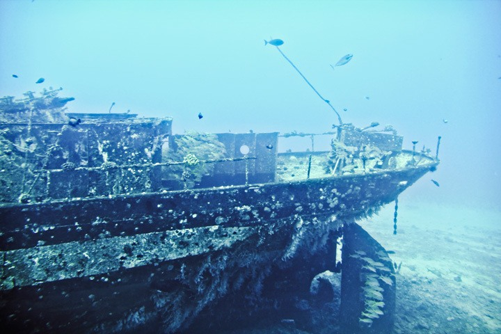 Maui Shipwreck