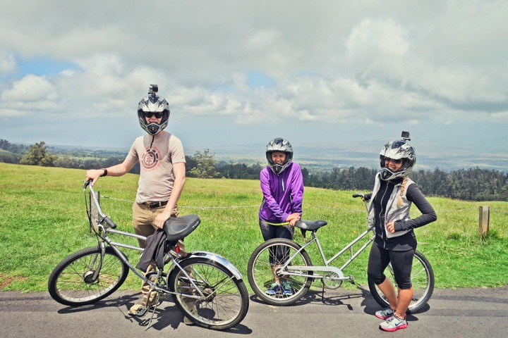 Biking Mount Haleakala
