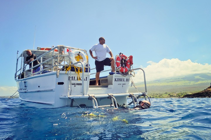 Mike Severns Diving Maui