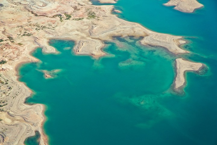 Lake Mead by Helicopter