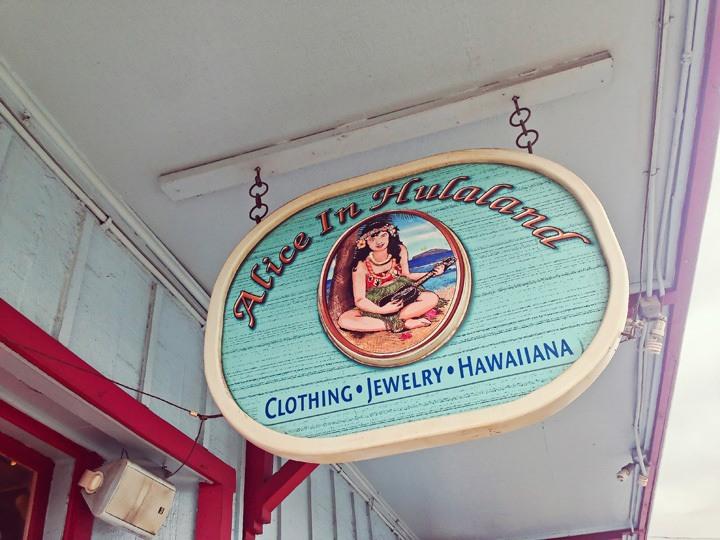 Alice in Hulaland Maui
